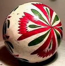 2207: 66207 BB Marbles: Rare Penn. Dutch Carpet Ball