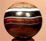 2327: 66327 BB Marbles: Handcut Agate