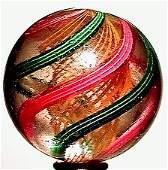 2478: 66478 BB Marbles: Latticinio Core Swirl