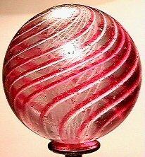 1002: 63002 BB Marbles: Latticinio Core Swirl