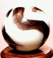 1015: 63015 BB Marbles: Peltier Zebra