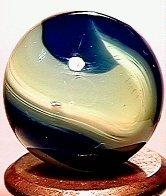 1023: 63023 BB Marbles: Akro Tri-Color Onyx