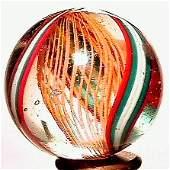 1035: 63035 BB Marbles: Latticinio Core Swirl