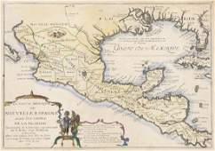 De Fer, Nicolas Le Vieux Mexique ou Nouvelle Espagne