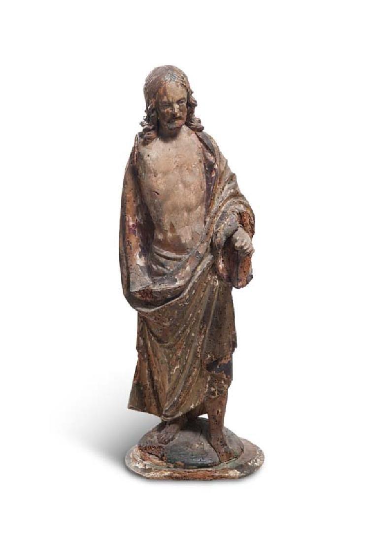 Christus der Auferstehung. Rückseitig mit einer