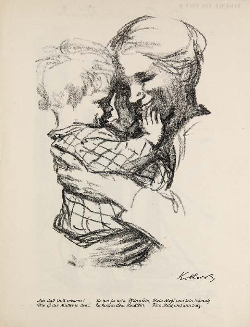 Kollwitz, Käthe Mutter mit Kind auf dem Arm. 1916.