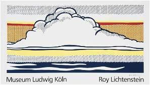 Lichtenstein, Roy - nachCloud and Sea. 1989.