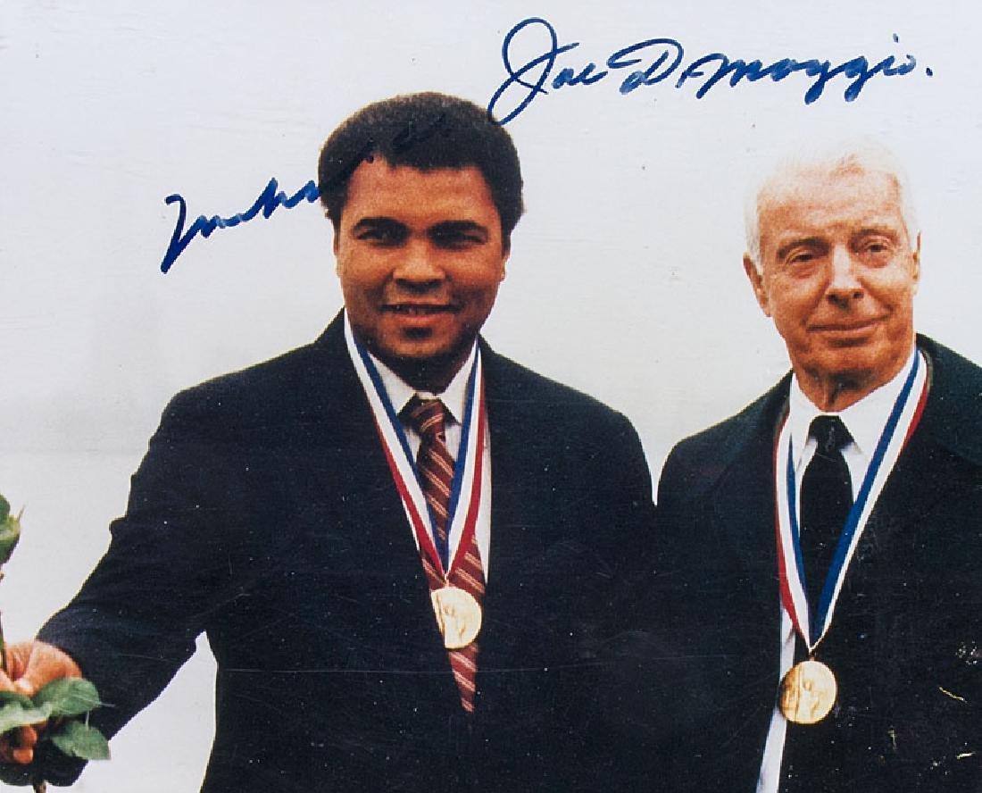 Living Legends. Muhammad Ali und Joe DiMaggio. Mit