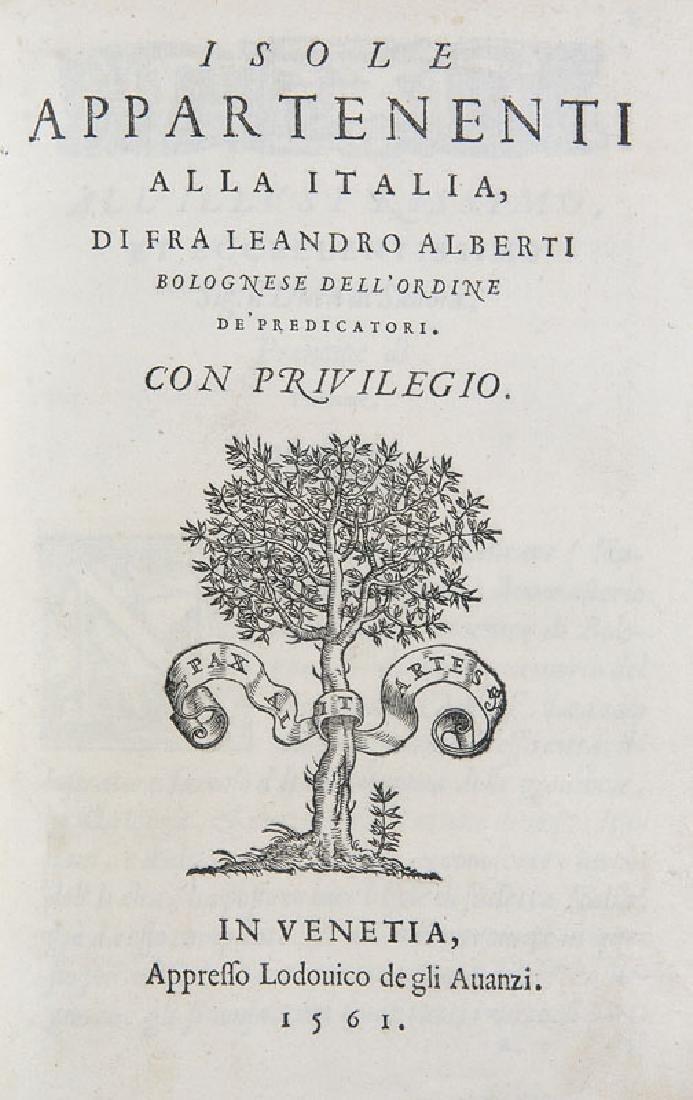 Alberti, Leonardo Descrittione di tutta Italia (und)