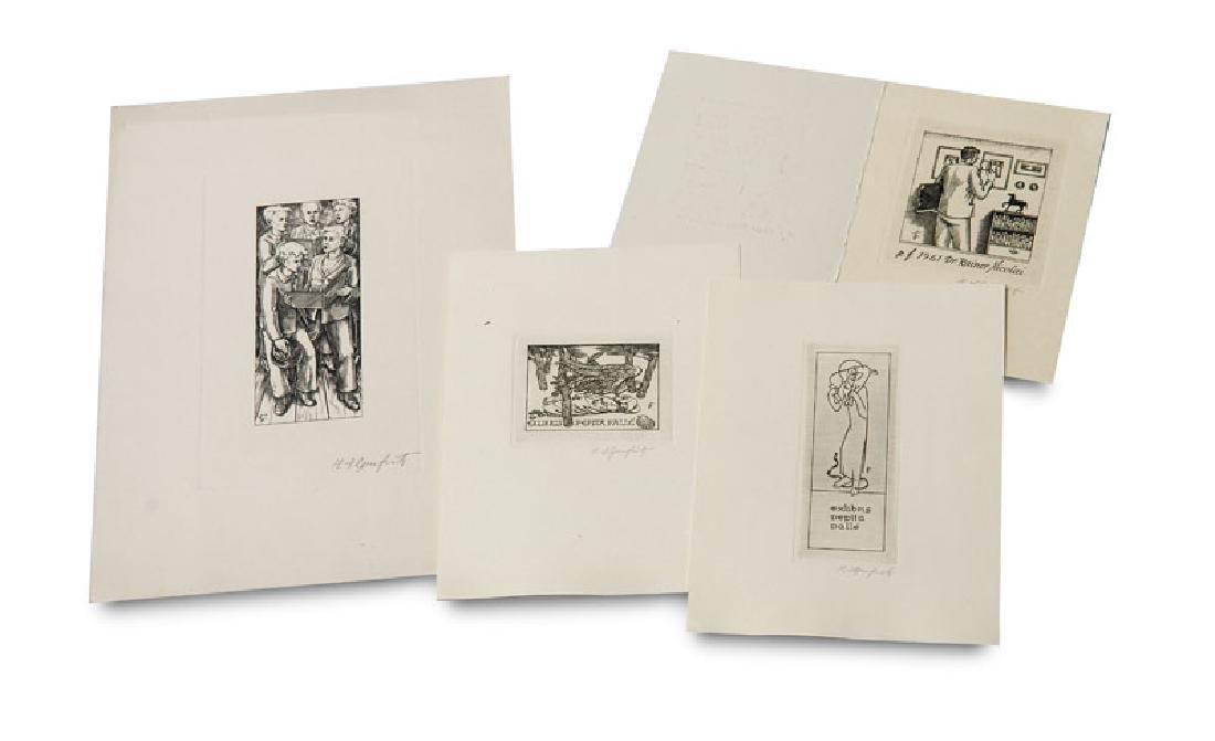 Ilgenfritz, Heinrich (nach) Fünf Druckplatten