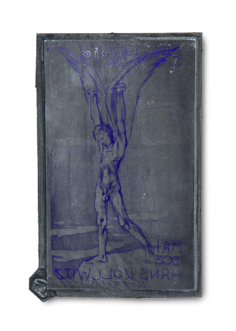 Kollwitz, Käthe (nach) Ex Libris/Mai 1908/Hans