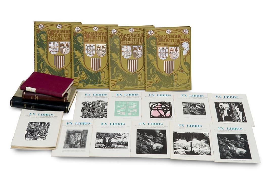 Sammlung von 19 Werken zu Exlibris aus Südeuropa und
