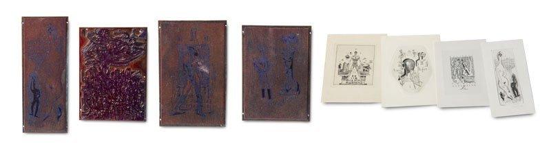 Zwiers, Wim (nach) Sammlung von 6 originalen