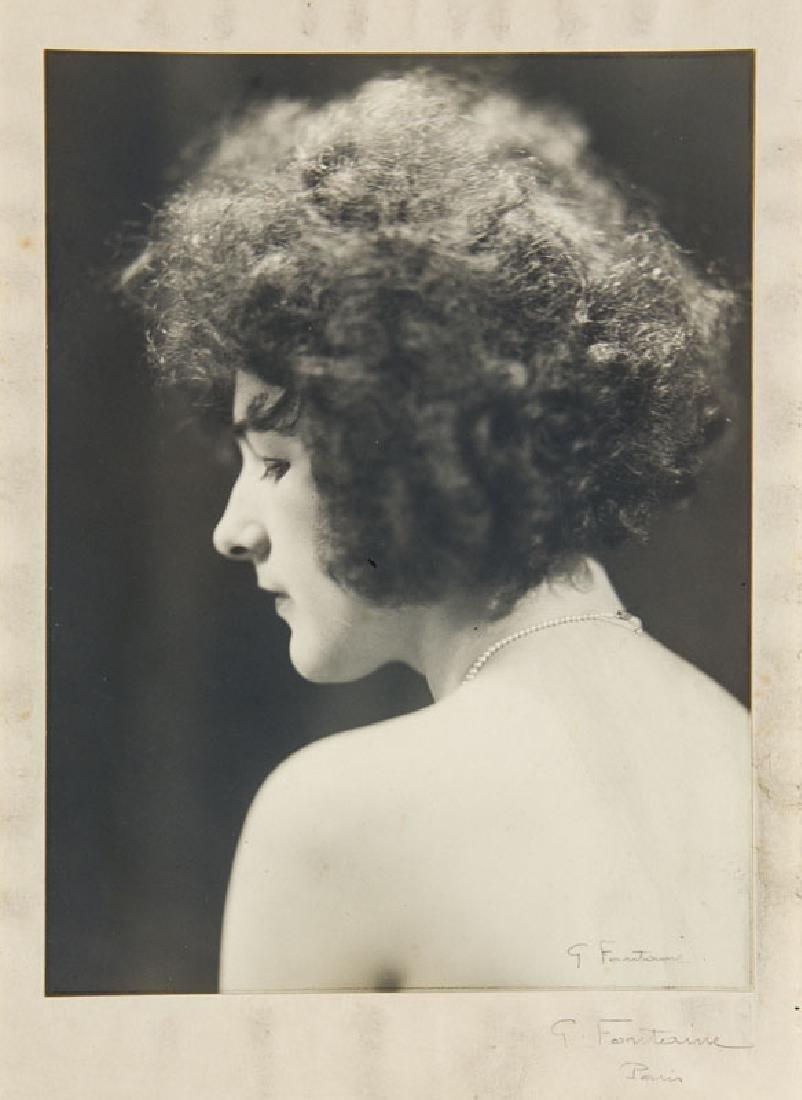 Fontaine, G. Sammlung von 4 Photographien mit