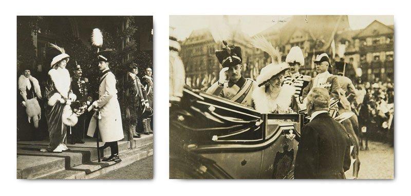 Photoalbum mit 50 Silbergelatine-Photographien zu den