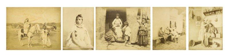 Sammlung von 70 Silbergelatine-Photographien ca. 1912.