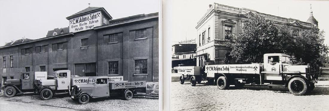 Sammlung von 33 Silbergelatine-Photographien der Firma