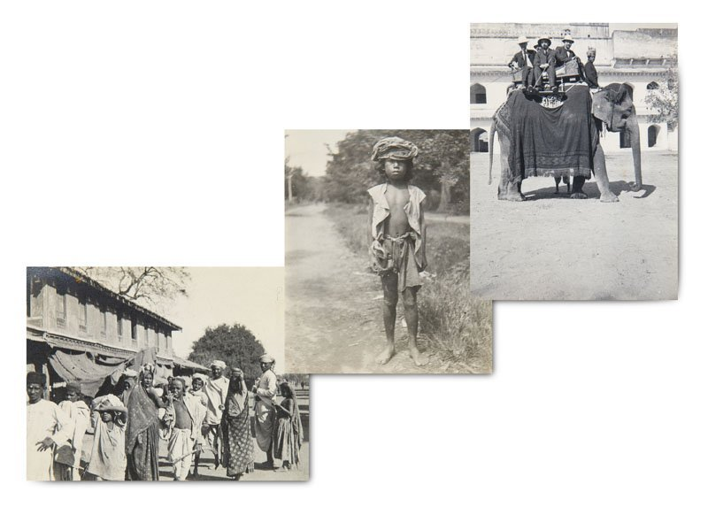 Sammlung von ca. 1000 Silbergelatine-Photographien. Ca.