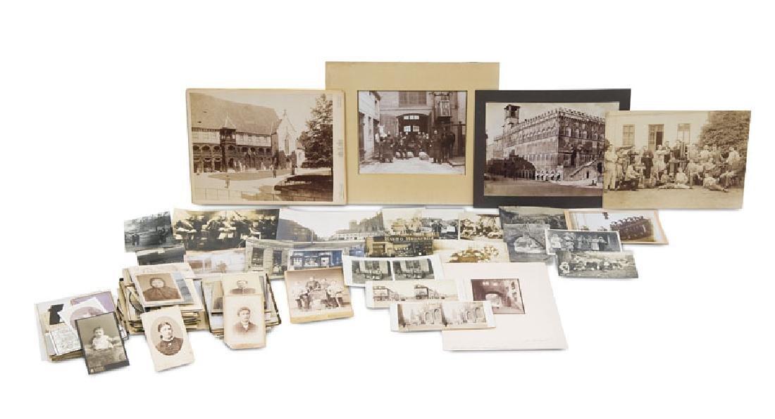 Sammlung von ca. 780 Photographien. Vintages. Albumin-