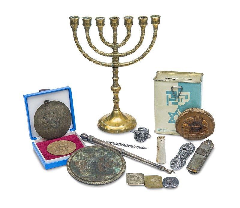 Sammlung von versch. Objekten des religiös jüdischen - 3