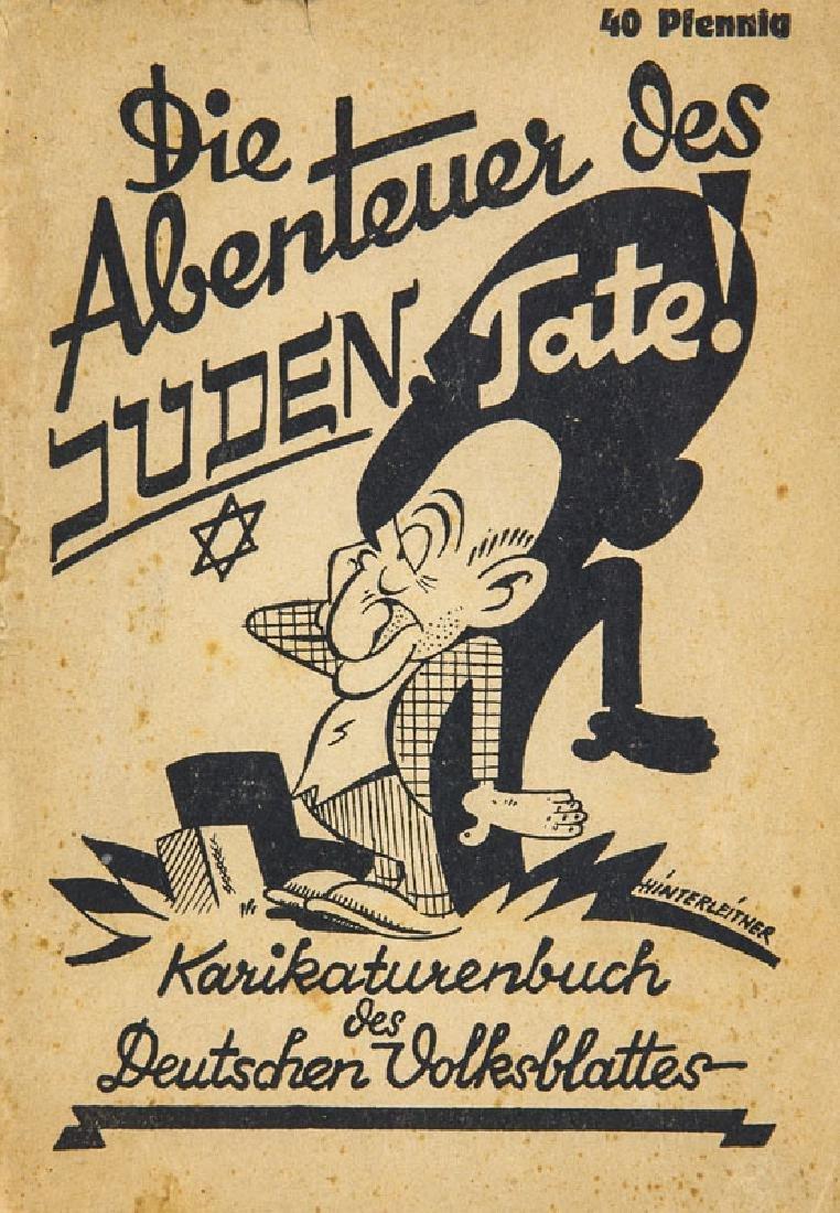 Hinterleitner, Fritz Die Abenteuer des Juden Tate!