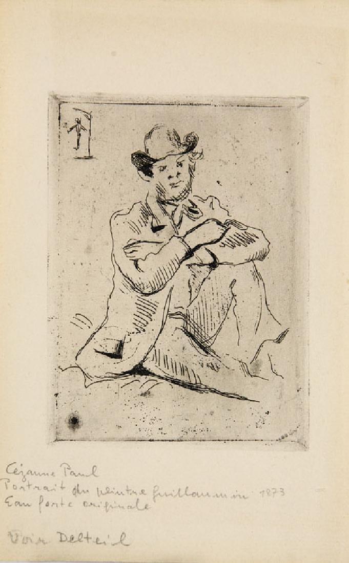 Cézanne, Paul Portrait du peintre Armand Guillaumin au