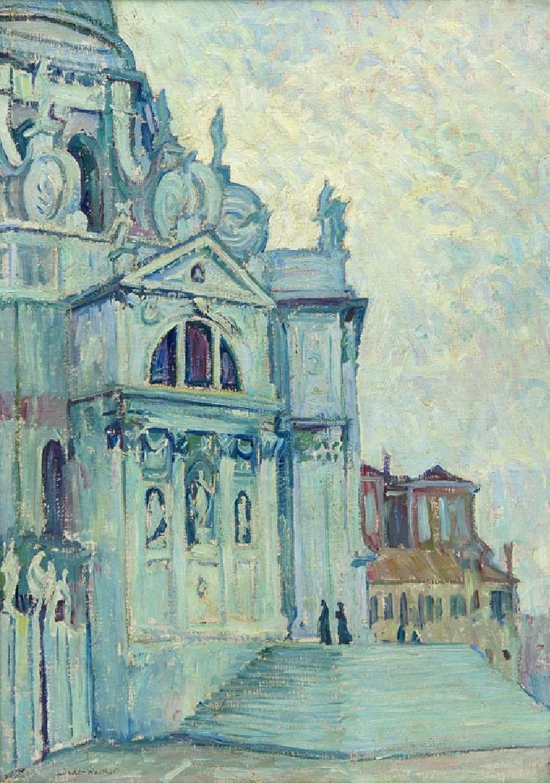 Linde-Walther, Heinrich Santa Maria della Salute. Öl