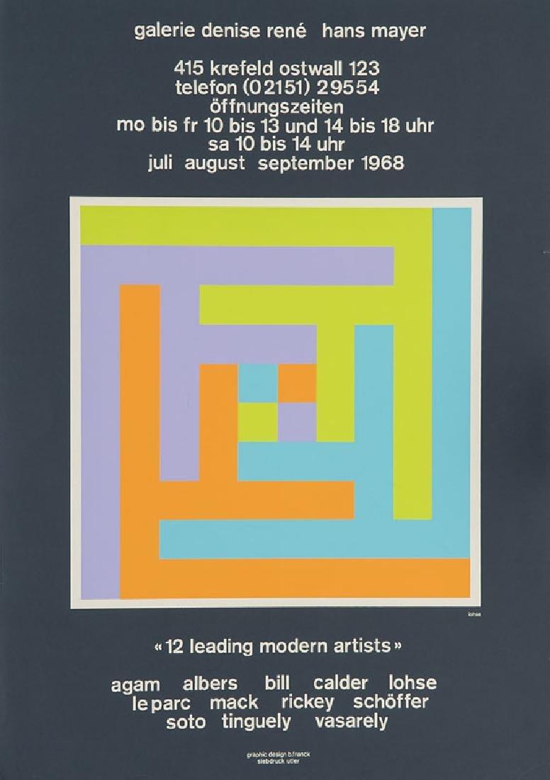 Janssen, Horst, u.A. Sammlung von 18 Graphikplakaten