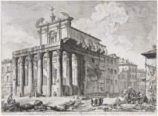 Piranesi, Giovanni Battista Veduta del Tempio di