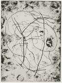 Schumacher, Emil Poesie in Schwarz-Weiß. 1959. Mappe
