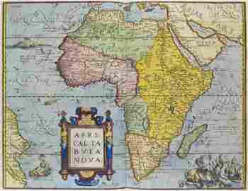 Ortelius, Abraham Theatrum Orbis Terrarum. Mit