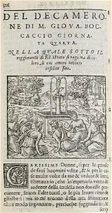Giovanni Boccacci Il Decamerone Nuouamente stampato