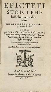 Politanus u Schegk Epiktet Epicteti Stoici philosophi