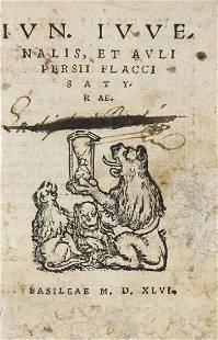 Decimus Junius u Persius Flaccus Juvenalis Satyrae