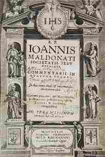 Johannes Maldonatus Commentarii in quatuor