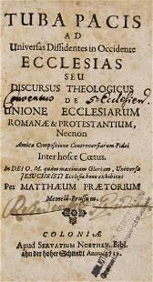Matthus Praetorius Tuba pacis ad universas dissidentes