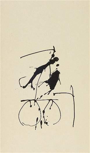 Motherwell, Robert Untitled (Tres Poemas, 1988).