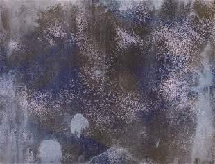 William, Pettet o.T. Lithographie auf Bütten. 22,7