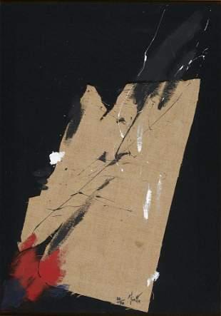 Miotte, Jean Eclatement d'une grenade. 1990.