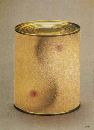 Kolar, Jiri Conserve II. 1987. Collage auf festem