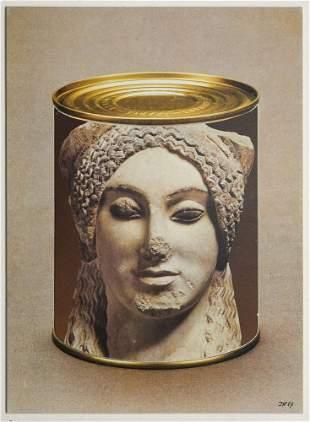 Kolar, Jiri Conserve II (antike Statue). 1987. Collage