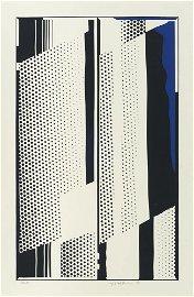 Lichtenstein, Roy Twin mirrors. 1970. Farbserigraphie