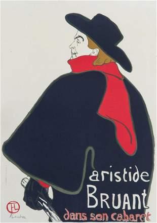 Toulouse-Lautrec - nach, Henri de Aristide Bruant dans
