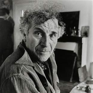 Maywald, Willy Marc Chagall in seinem Haus in Orgeval,