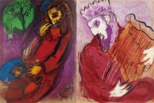 Chagall, Marc Illustrations for the Bible. Text by J.