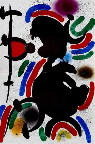 Miró, Joan Lithographe (Bd. 1) bzw. Der Lithograph