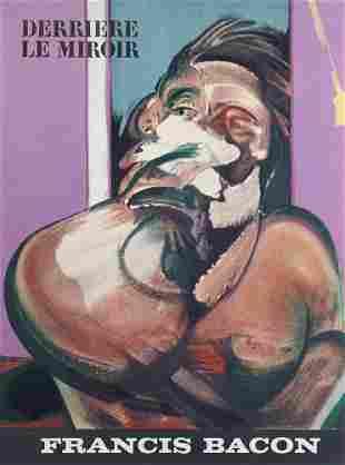 Derrière le Miroir. No. 162. Francis Bacon. Mit 5