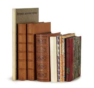 Sammlung bibliophiler Ausgaben des Insel-Verlages.