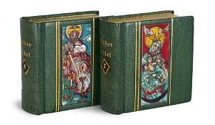 Bilderbibel des Alten und Neuen Testaments. 2 Bde.