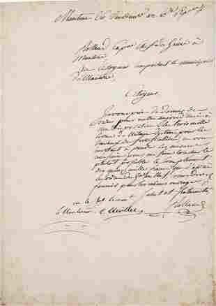 """Miollis, Sextius-Alexandre-François """"Eigenhä"""